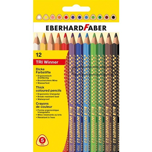 Eberhard-Faber 12li THE Winner kuruboya kalemi, 4mm mine